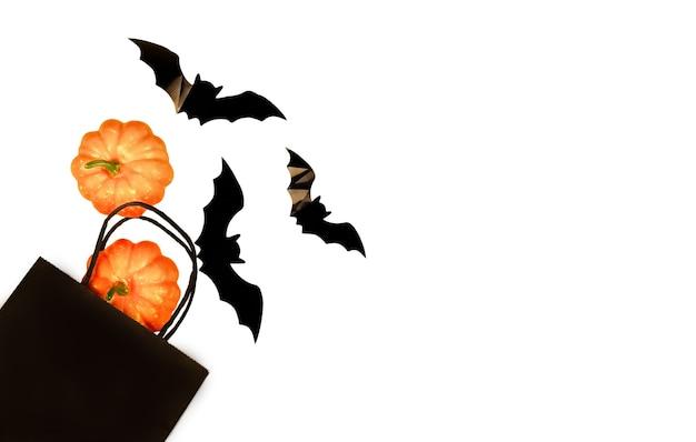 Halloween auf isoliertem weißem hintergrund sonderangebot symbol design element feier konzept