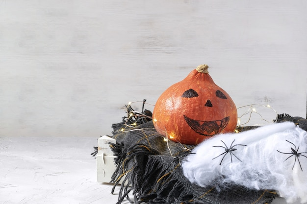 Halloween dekoration konzept