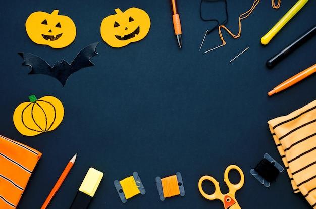 Halloween-dekorationen, nähen von gegenständen, die textilkürbis basteln, handgemachte fledermäuse, spinne