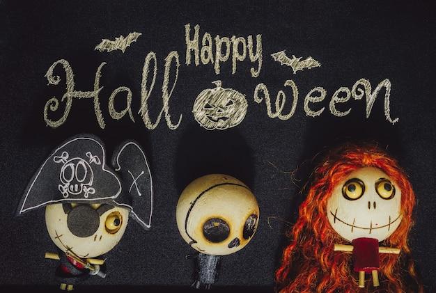 Halloween-hintergrundkonzept