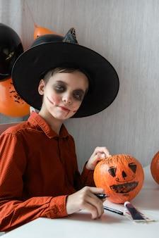 Halloween-karneval oder maskerade-konzept