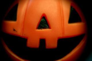 Halloween-kürbis, urlaub