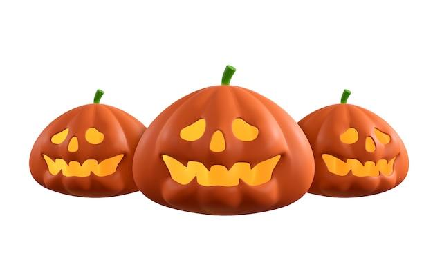 Halloween kürbisse isoliert