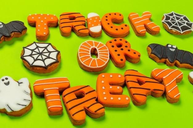 Halloween mit keksen