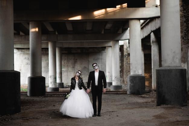 Halloween-paar