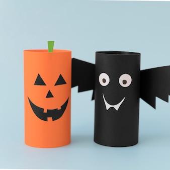 Halloween papierdekorationen