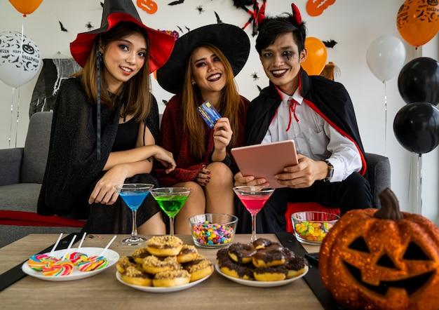 Halloween-party einkaufen