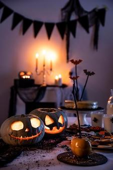 Halloween-partydekorationen