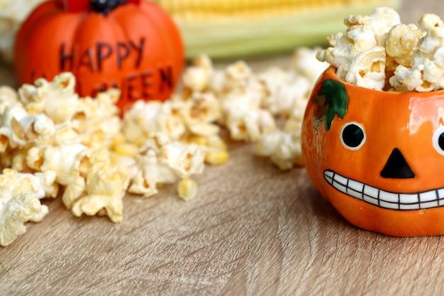 Halloween-popcorn