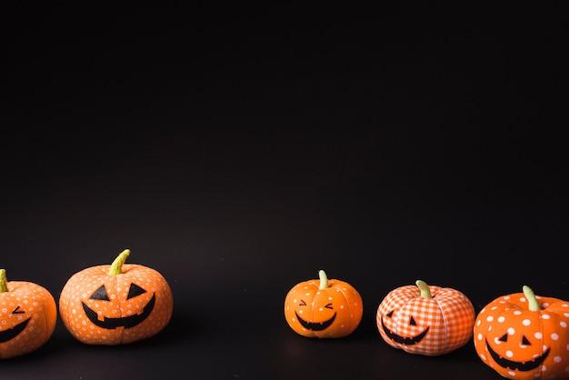 Halloween weiche kürbisse
