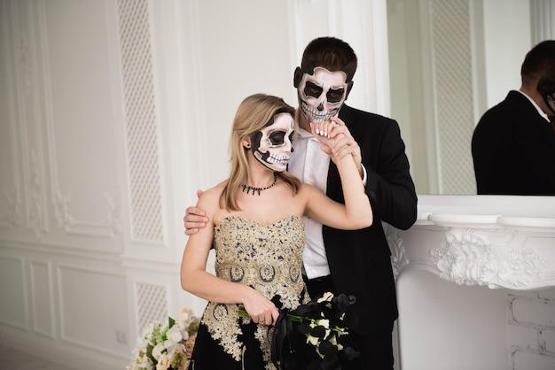 Halloween zombie party und horror