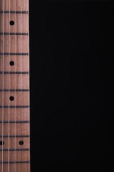 Hals der elektrischen gitarre