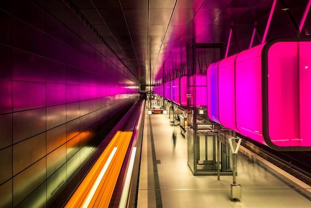Hamburg underground hafencity