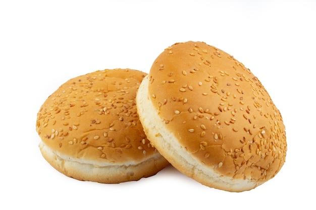 Hamburger brötchen isoliert