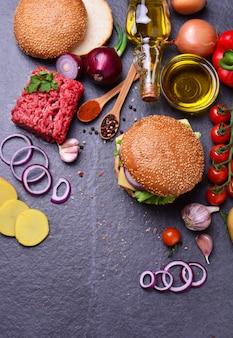 Hamburger vom besten essen