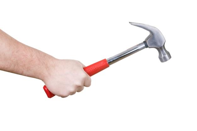 Hammer in der hand