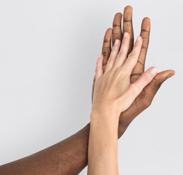 Hand arm menschlichen hintergrund konzept