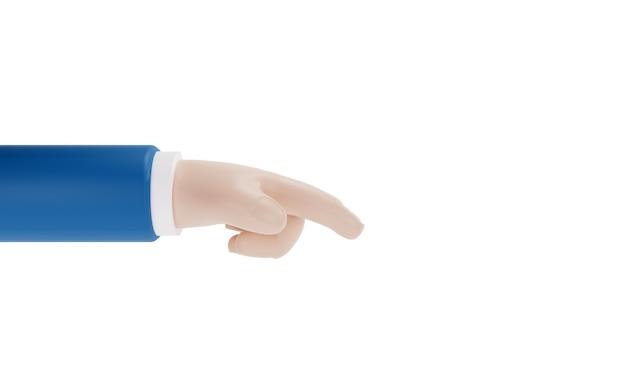 Hand der geschäftsperson