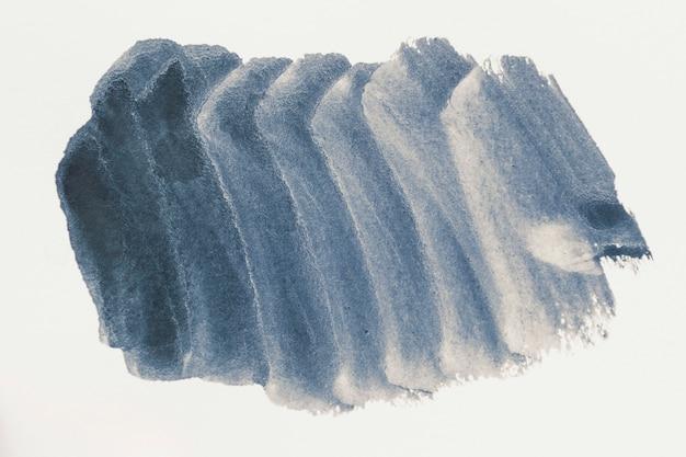 Hand gezeichnete schwarze aquarellkunst auf weißem hintergrund