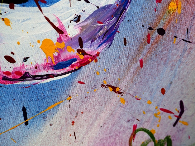Hand zeichnen bunte ölfarbe abstrakten hintergrund und textur.