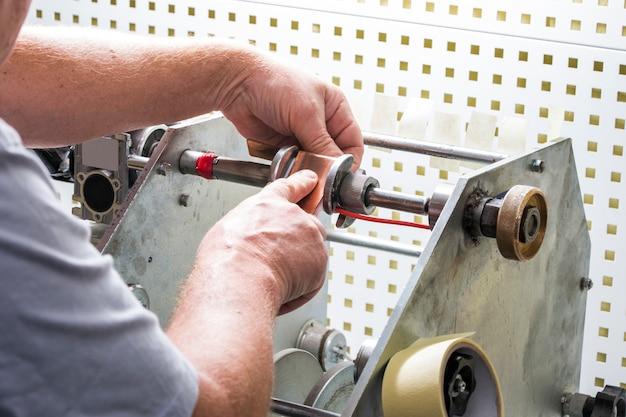 Handaufzugstransformator
