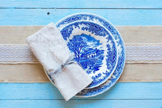 Handbemalte platte