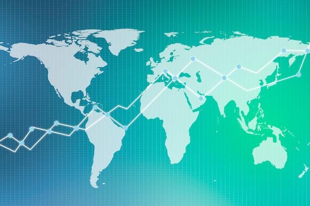 Handelsdiagramm für doppelbelichtung