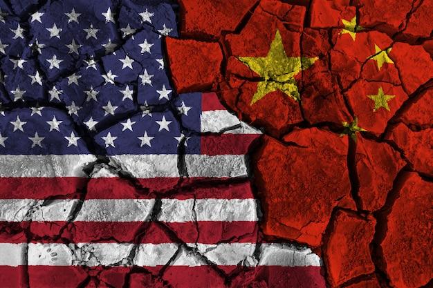 Handelskrieg zwischen vereinigten staaten von amerika gegen china