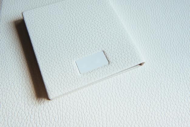 Handgefertigte fotobücher aus leder