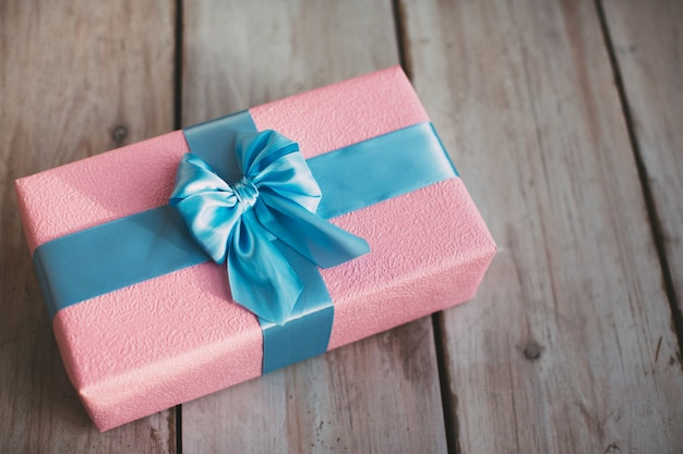 Handgemachte geschenkbox.
