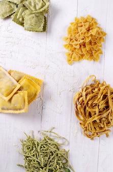 Handgemachte pasta