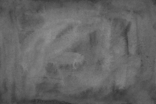 Handgemalte graue hintergrundbeschaffenheit des aquarells handgemalt. rahmengrauer hintergrund monochrome alte überlagerung.