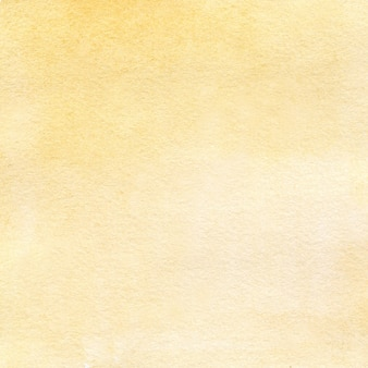 Handgezeichneter aquarellhintergrund der hellgelben aquarellbeschaffenheit