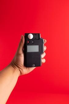 Handlichtmessung mit photometer (belichtungsmesser)