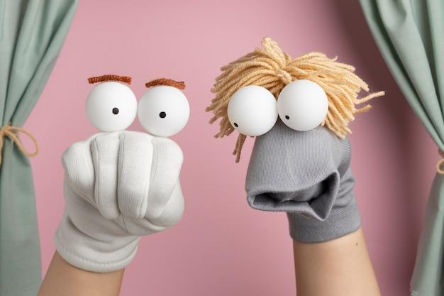 Handpuppentheater für kinder