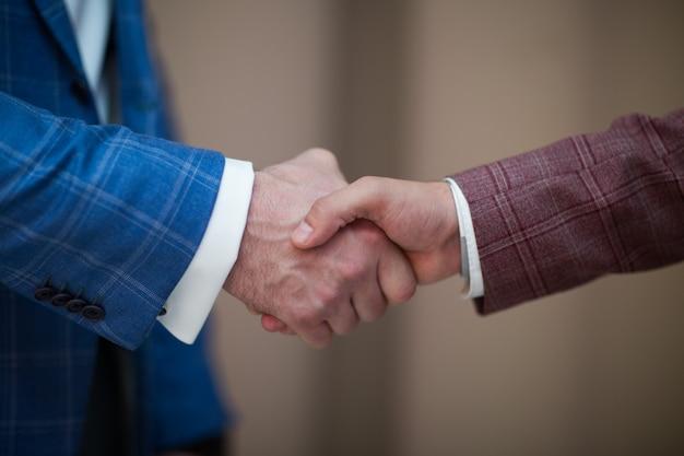 Handschlag männer