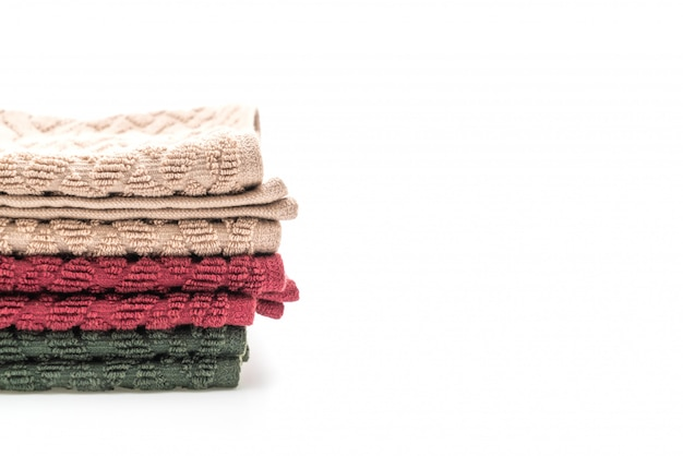 Handtuch auf weiß