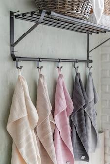 Handtuch hängen