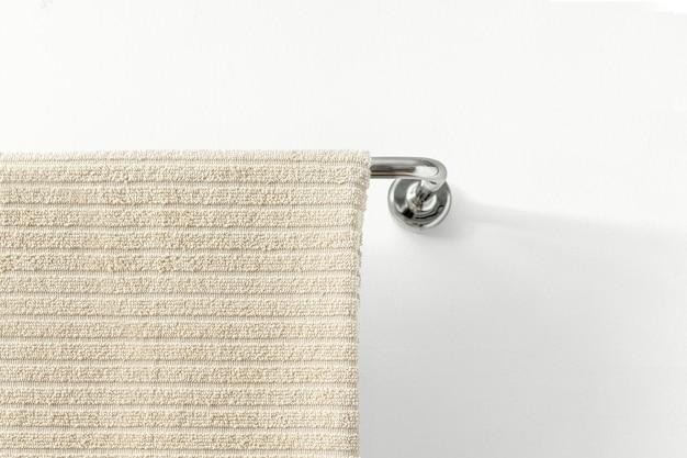 Handtuchaufhängung im badezimmer, heimtextilien