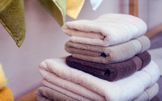 Handtücher aus baumwolle