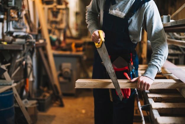 Handwerker arbeiten