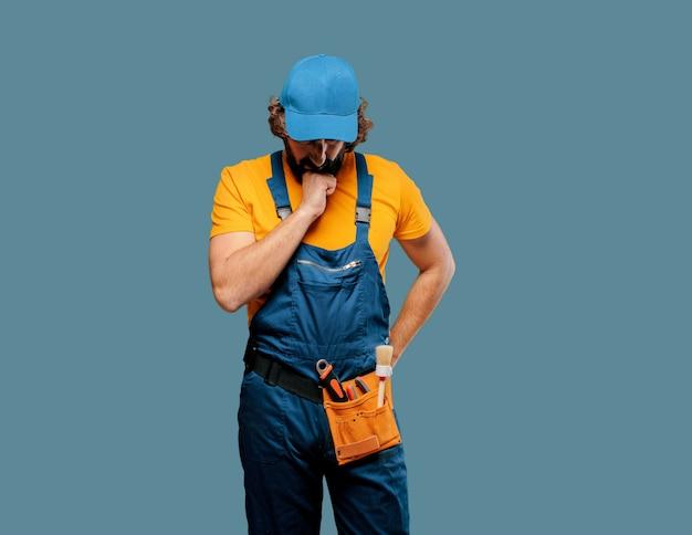 Handwerker arbeiter denken