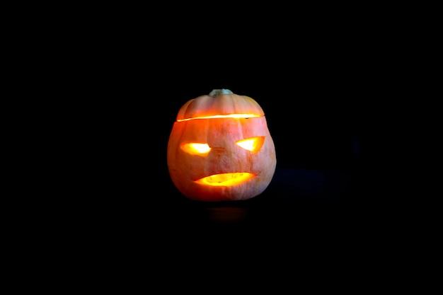 Happy halloween kürbis jackolanterns hintergrund