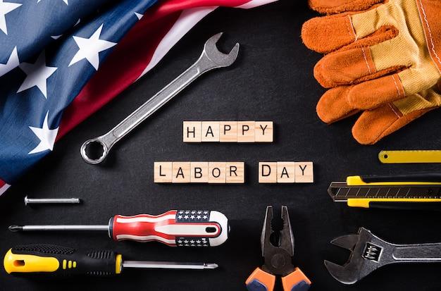 Happy labour day komposition