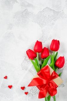 Happy valentinstag hintergrund. grußkarte