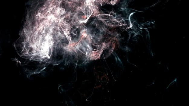 Hauch von hellem rauch
