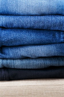 Haufen jeans