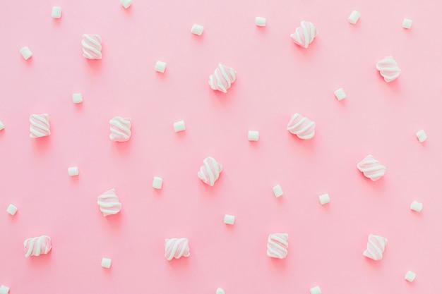 Haufen marshmallows