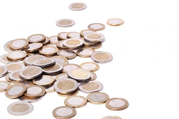 Haufen münzen