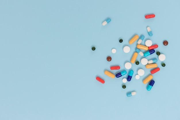 Haufen pillen